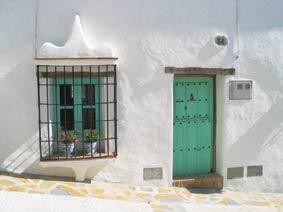 Front Door of our Village House in Gaucin
