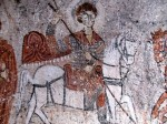 Turkey Cappadocia St George Church Painting