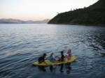 Turkey Sailing Four Kids inKayak